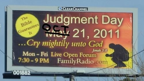 New Judgement Day