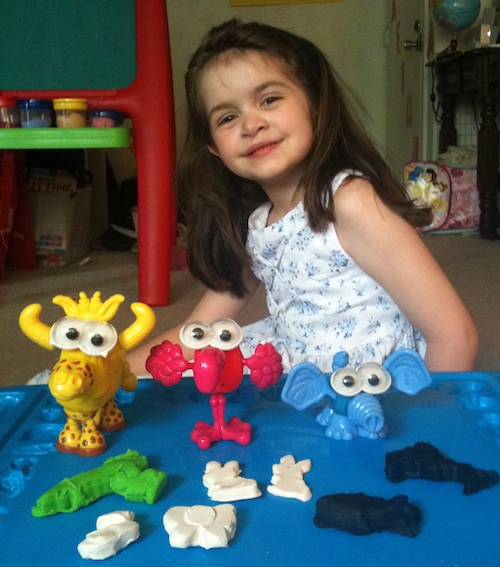 Anna's Play-doh Menagerie