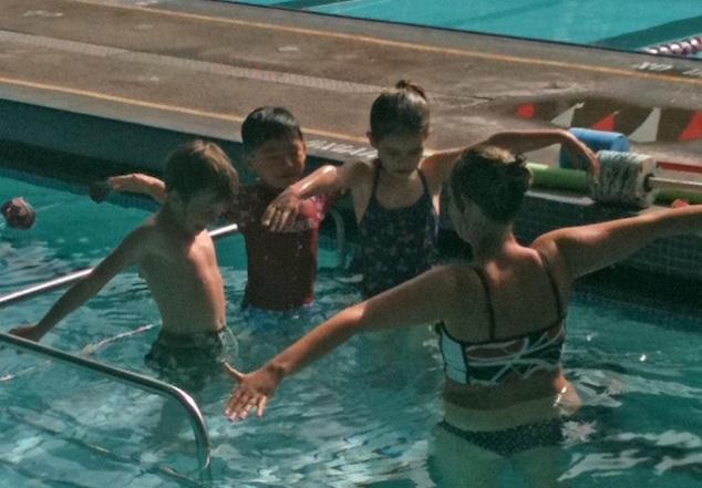 Anna's 1st Swim Class