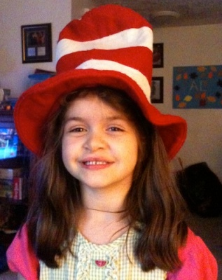 Anna as the Cat in the Hat