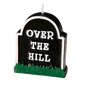 Over the Hill candle
