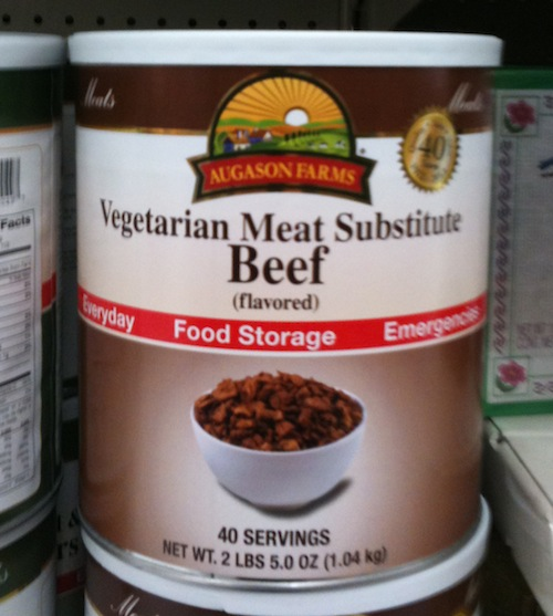 Vegetarian Meat Substitute Beef (flavored)