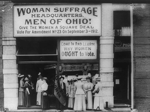 Women's Suffrage Cleveland HQ 1912