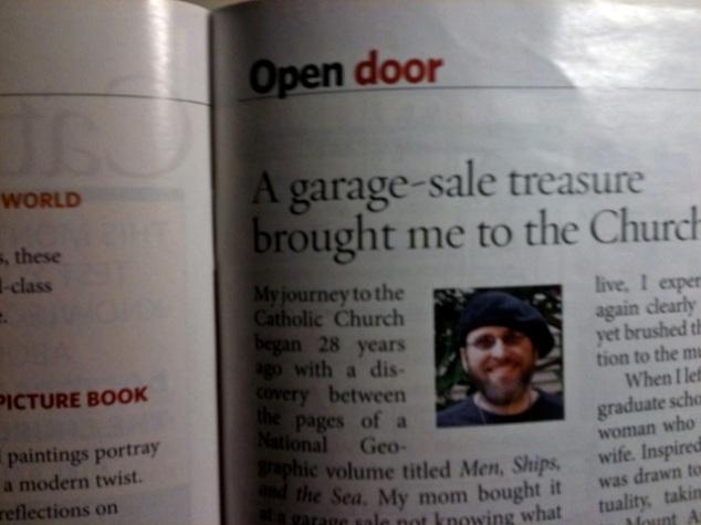 My Open Door Article