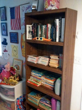 Our new bookcase
