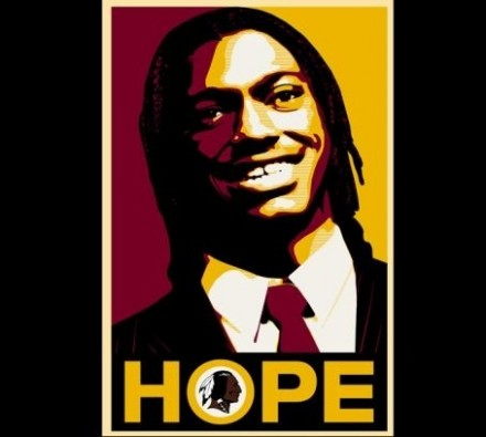 Robert Griffin III Hope Poster