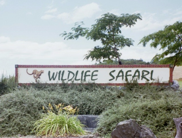 Wildlife Safari Sign (2002)