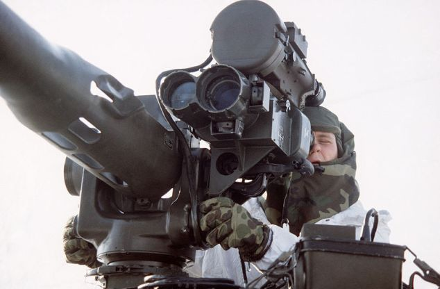 TOW Anti-tank weapon