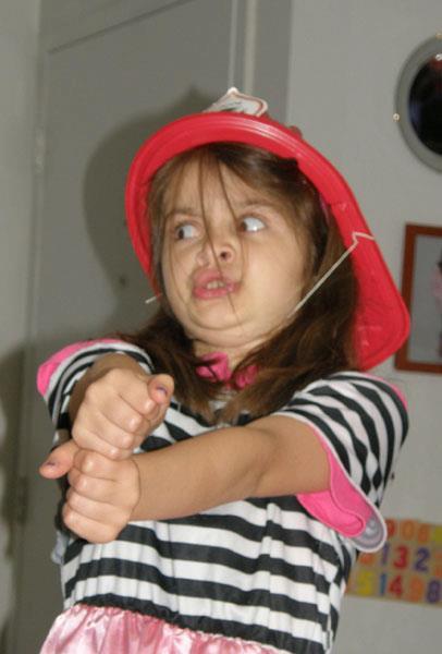 Firefighter Anna!