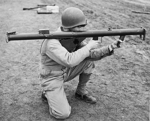 WWII Soldier with bazooka