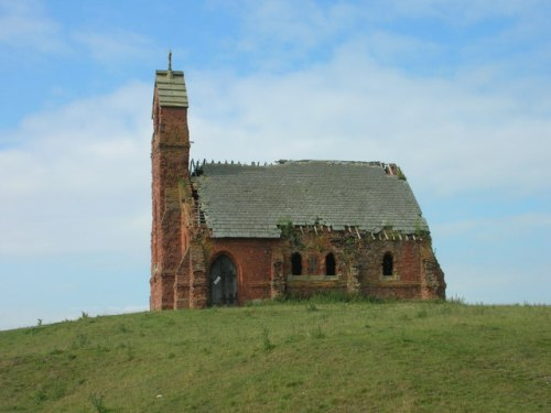 Ruined Church, Cottam from geograph.org.uk Wikimedia Commons