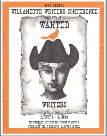 Willamette Writers Conference 2012 Program Cover
