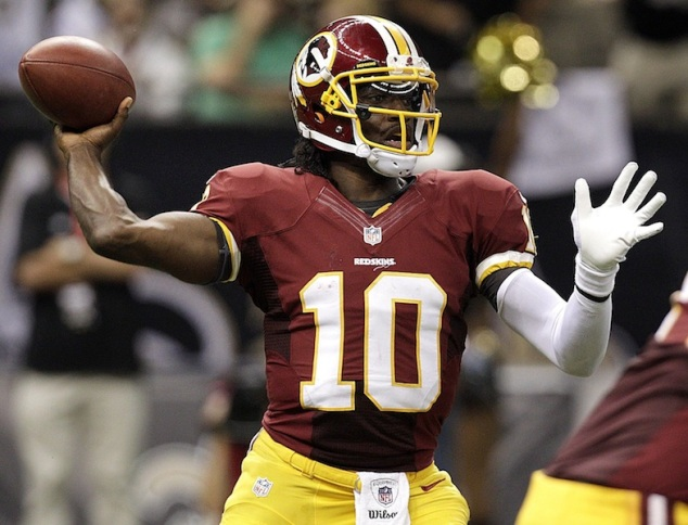 Robert Griffin III vs. The New Orleans Saints (9/9/12)