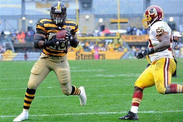 Redskins Steelers 2012