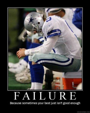 Tony Romo: Failure