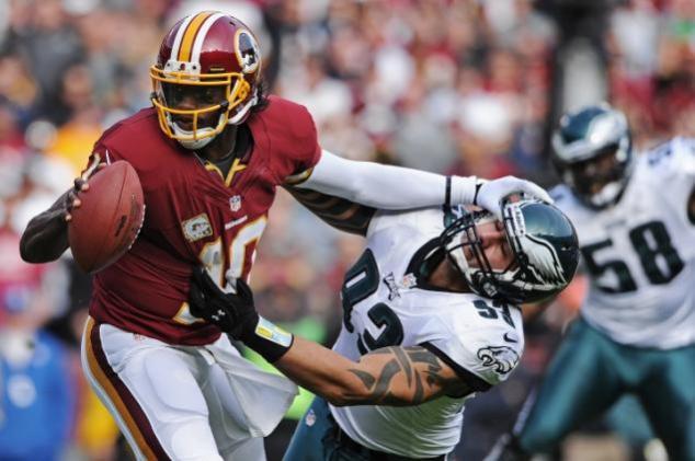 Robert Griffin III against the Philadelphia Eagles (11/18/2012)