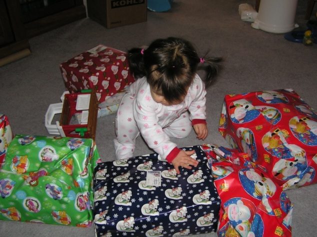 d her Christmas gifts (2006)