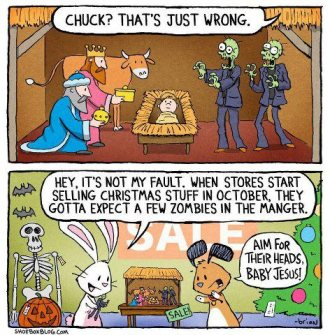 Manger with Zombies