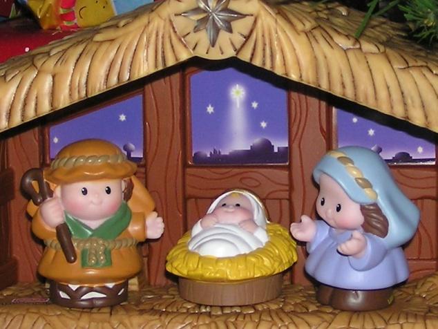 Jesus, Mary, and Joseph