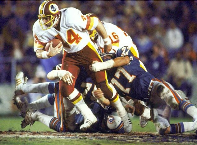 John Riggins in Super Bowl XVII