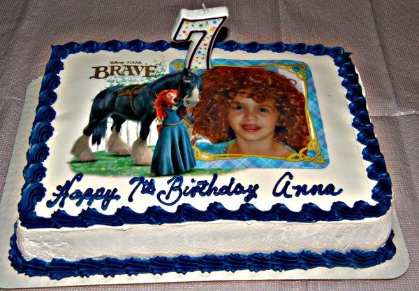 Disney-Pixar Brave Cake