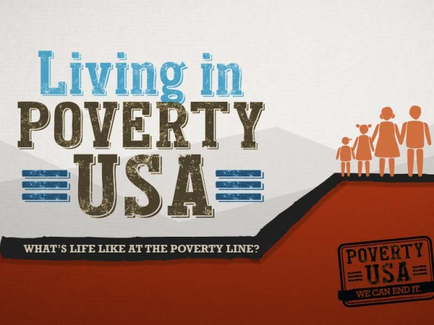 Living in Poverty, USA. What's life like at the poverty line?
