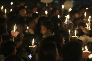 Easter Vigil at St. Peter's Basilica