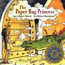 """The Paper Bag Princess"" cover"