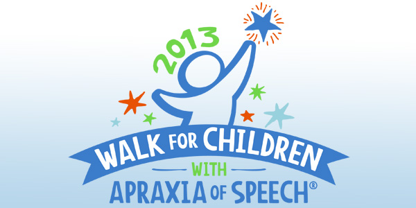 2013 Walk for Children with Apraxia of Speech