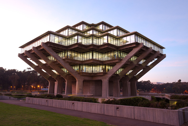 The Geisel Library at UCSD