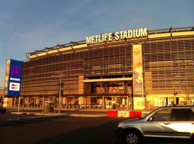 MetLife Stadium Exterior