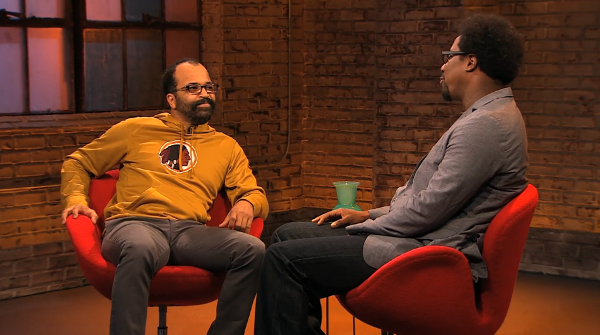 Jeffrey Wright and W. Kamau Bell