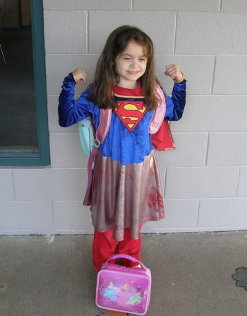 Super Girl (at school)