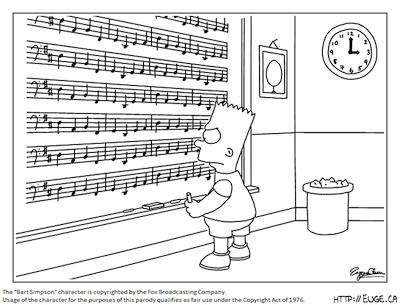 Bart Simpson and Pachelbel