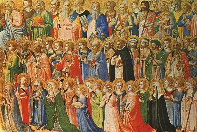 A multitude of saints.