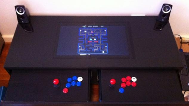 Retro Pac Man console