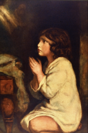 The Infant Samuel at Prayer