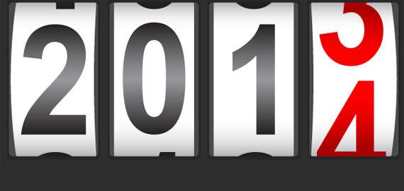 2013 rolls to 2014