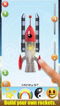 Rocket launch screen