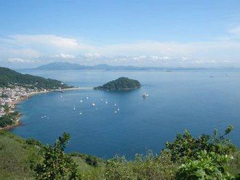 The view from Cerra de la Cruz, Isla Tabaga