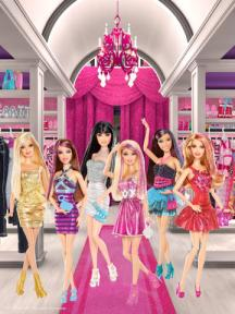 Dressed up Barbies
