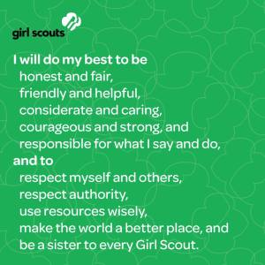 Girl Scout Law