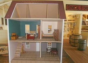 Dollhouse inside