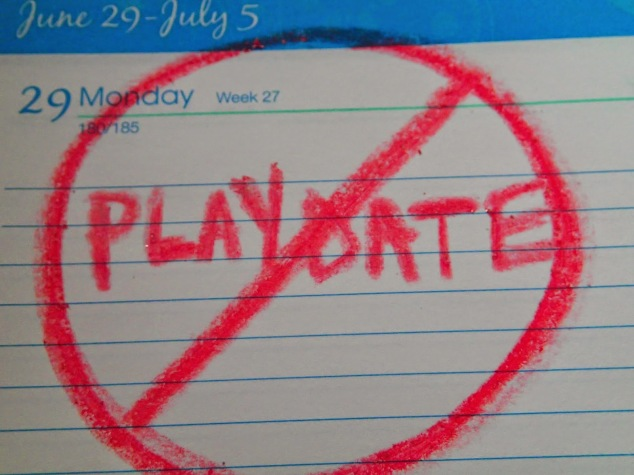 No Playdate