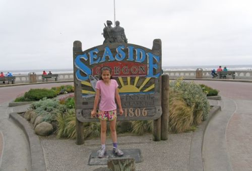 Anna and the Seaside sign