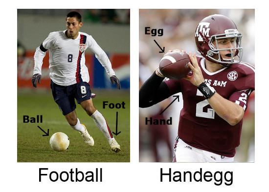 Football vs. Handegg