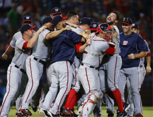 Nats win NL East!