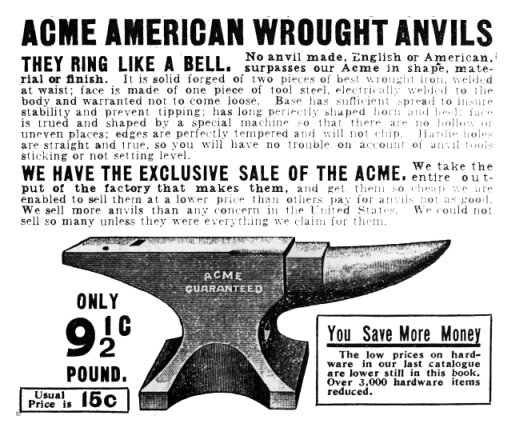Acme Anvils