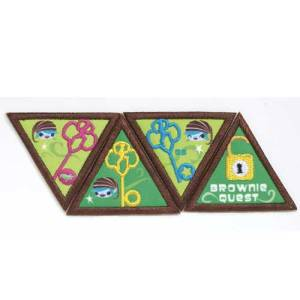 Brownie Quest badges
