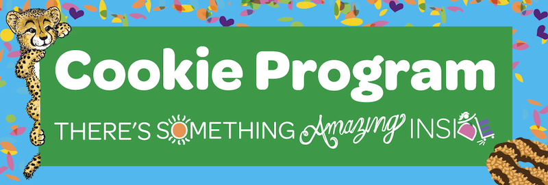 Cookie Program: There's something amazing inside.